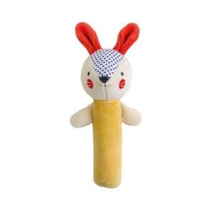 Pískací hračka Petit collage Bunny