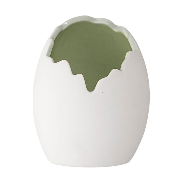 Doniczka ceramiczna w kształcie jajka Bloomingville Nila, ⌀13,5cm