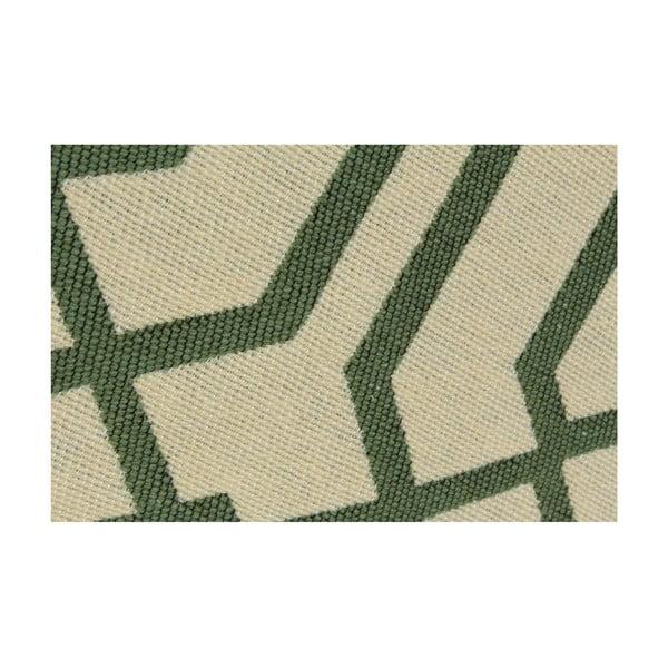 Zelený koberec Ya Rugs Kenar, 60x90cm