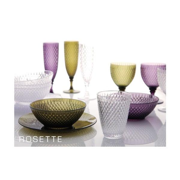 Červená vinná sklenice Kinto Rosette