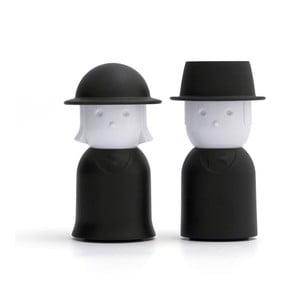 Černá slánka a pepřenka Qualy Mr.Pepper & Mrs. Salt