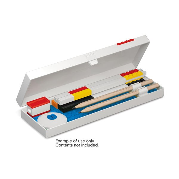 Piórnik z minifigurką na niebieskim klocku LEGO® Stationery