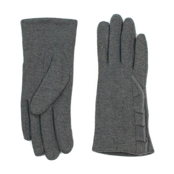 Tmavě šedé rukavice Jeanne