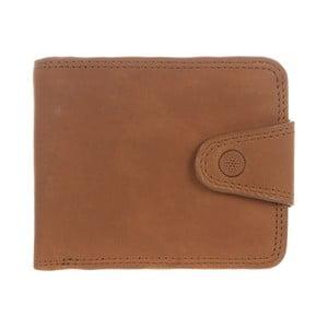 Kožená peněženka Clark Natural Veg