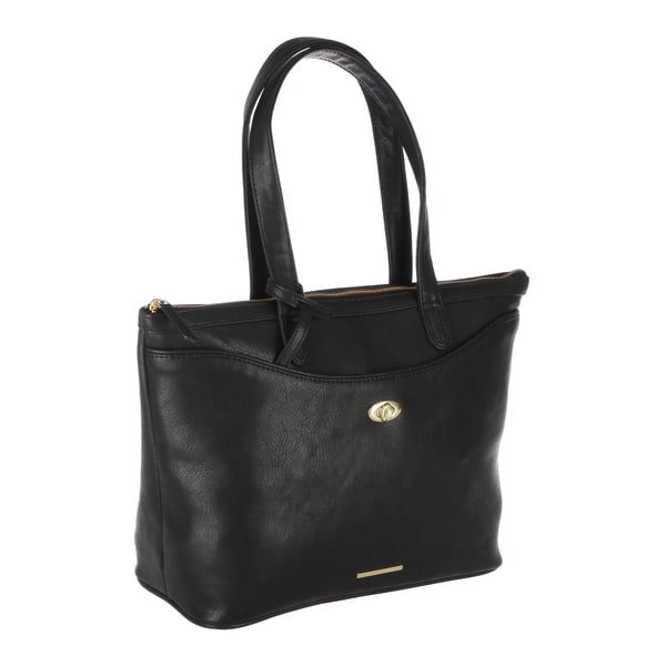 Dámská kabelka s taštičkou Leona Black
