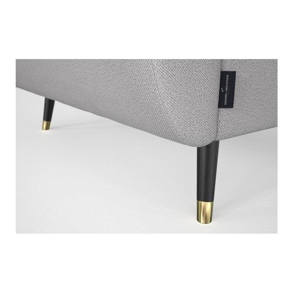 Světle šedá rohová pohovka Daniel Hechter Home Alchimia Light Grey, pravý roh