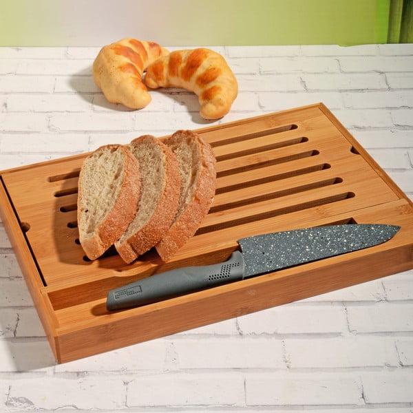 Bambusové prkénko na pečivo Bread