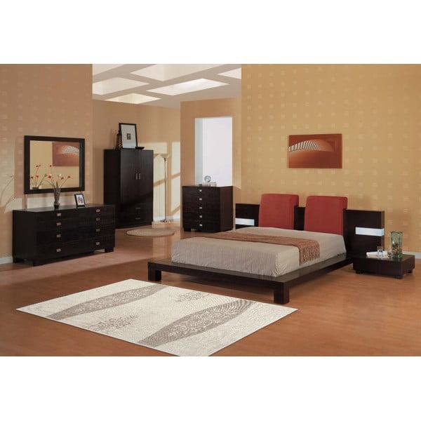 Krémový bavlněný koberec Floorist Decor, 100x200cm