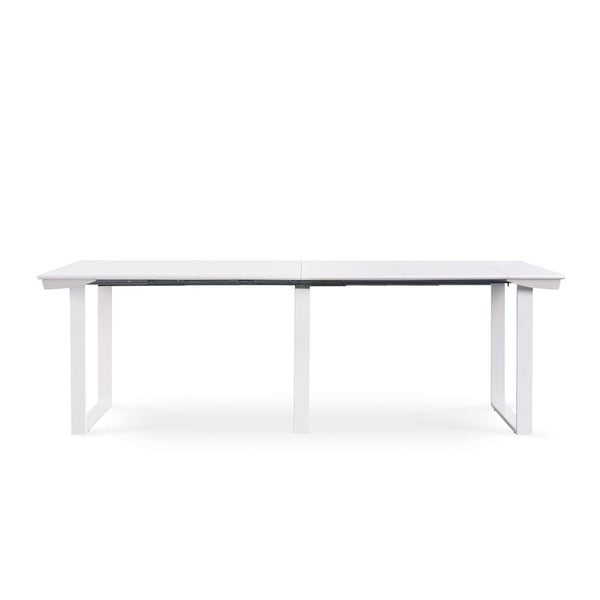 Rozkládací konzolový stůl Medus, bílý