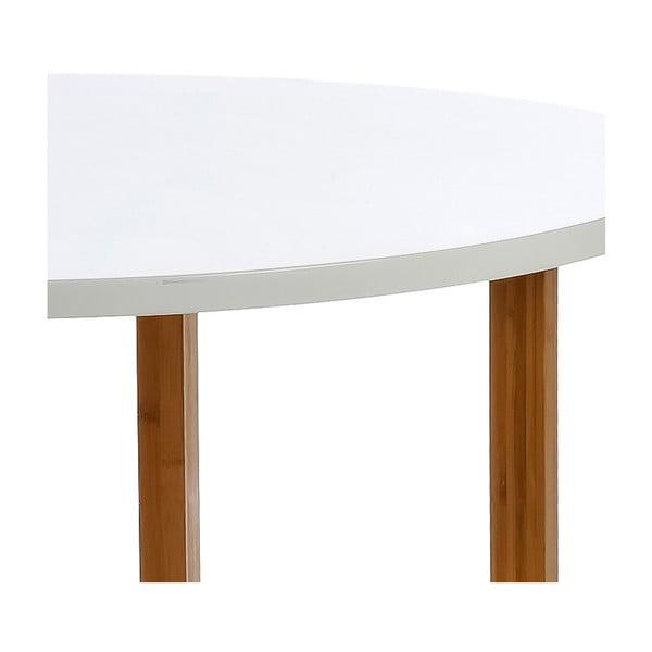 Jídelní stůl Round White, 100 cm