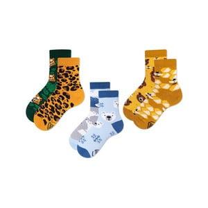 Sada 3 párů dětských ponožek Many Mornings El Leopardo, vel. 31-34