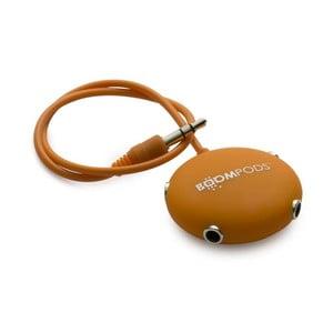 Multipod pro sdílení sluchátek, oranžový