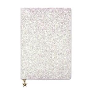 Růžový zápisník A5 GO Stationery All That Glitters Chammpagne