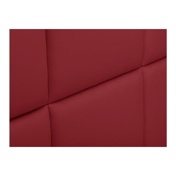 Červené čalouněné čelo postele THE CLASSIC LIVING Aude, 200x120cm
