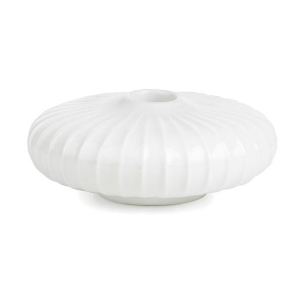 Bílý porcelánový svícen Kähler Design Hammershoi, ⌀ 4,5 cm