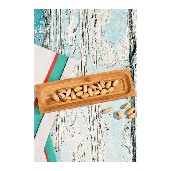 Miseczka bambusowa do serwowania Kosova Lungo, 23x7 cm