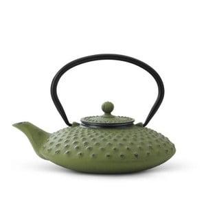 Ceainic din fontă cu infuzor  Bredemeijer Xilin, 0,8 litri, verde