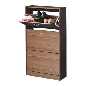 Botník Shoe Cupboard, barva ořechu