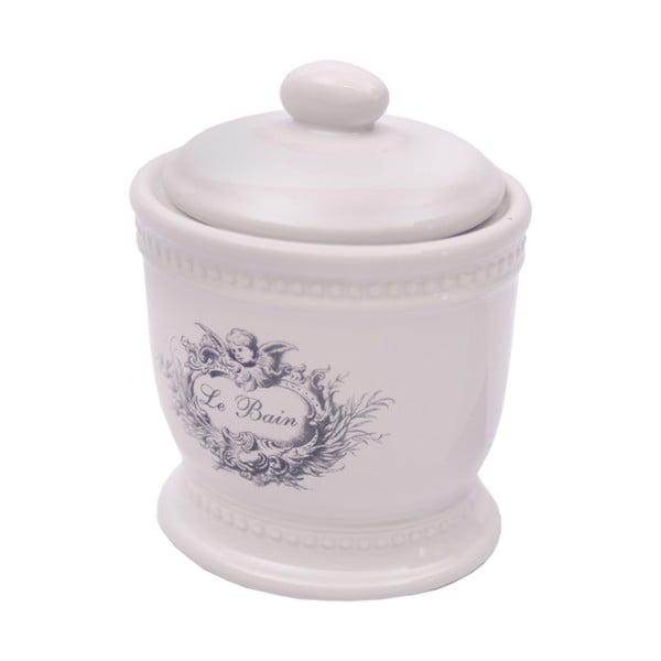 Recipient ceramică Antic Line Le Bain