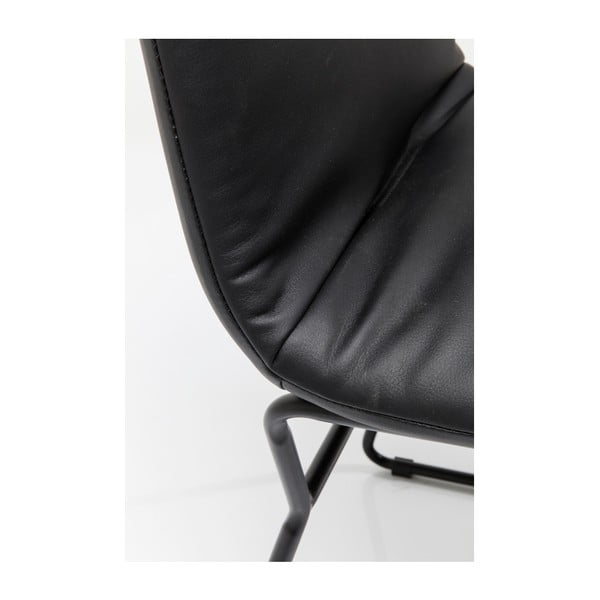 Černá jídelní židle Kare Design Zorro