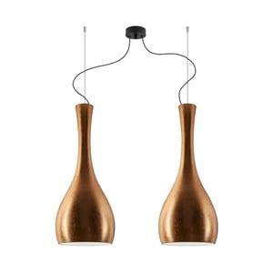 Dvojité světlo Sotto Luce ITTEKI Elementary copper/black/black