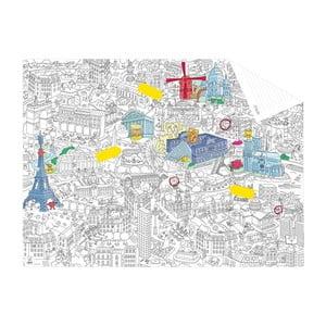 Kapesní omalovánka mapa Paris