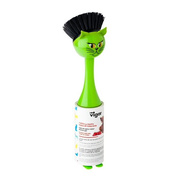 Kartáč na nádobí Vigar Green Cat