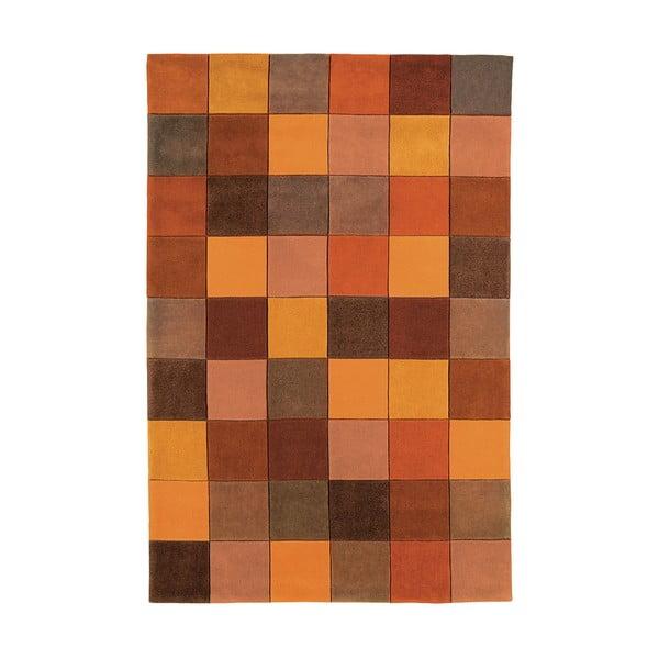 Koberec Asiatic Carpets Eden Pixel Terracotta, 160x230 cm