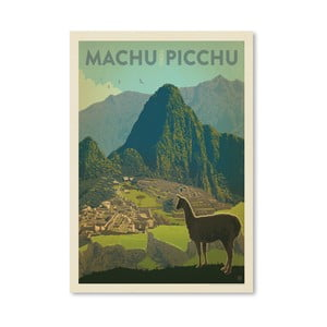 Plakát Americanflat Machu Picchu, 42 x 30 cm