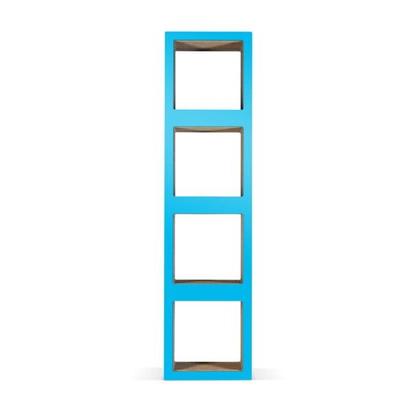 Kartonová knihovna Bit Quattro Blue