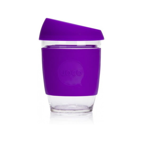 Cestovní hrnek na kávu Joco Cup 340 ml, fialový