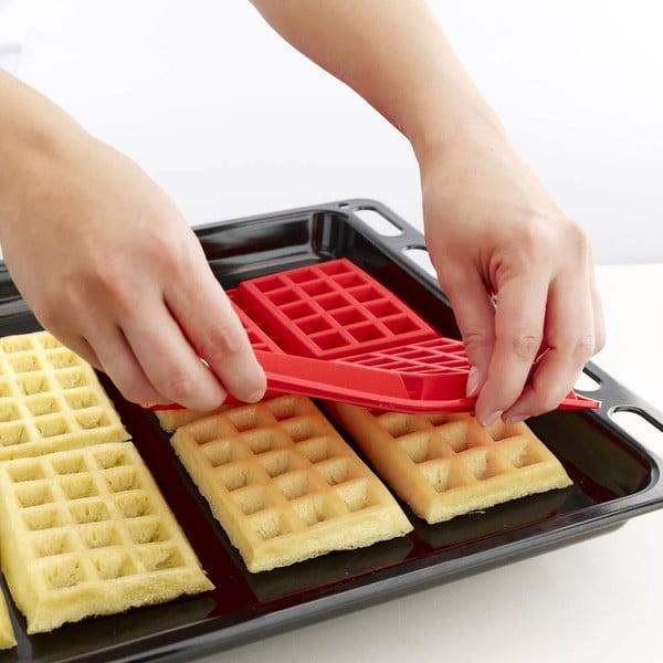Silikonová forma na wafle Moulds, 2 ks