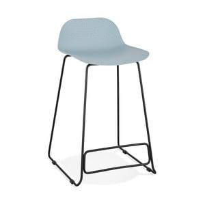 Světle modrá barová židle Kokoon Slade, výška85cm