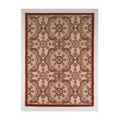 Červeno-béžový koberec vhodný do exteriéru Casa Sisal, 230 x 160 cm