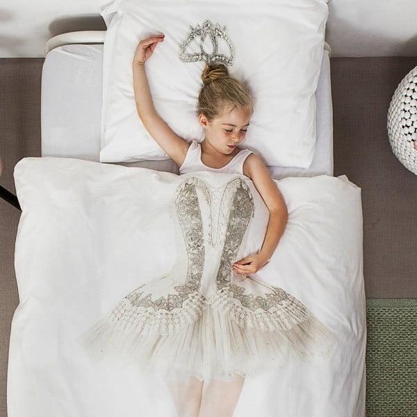 Lenjerie de pat Snurk Ballerina, 140 x 200 cm