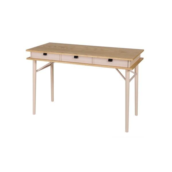 Solo Desk fiókos íróasztal - Woodman