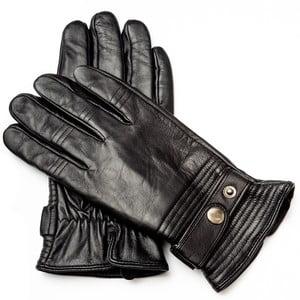 Pánské černé kožené rukavice <br>Pride & Dignity Dennis, vel. XL