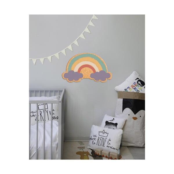 Dětská nástěnná korková dekorace Little Nice Things Rainbow