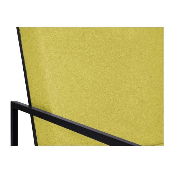 Žluté křeslo BSL Concept Geometric