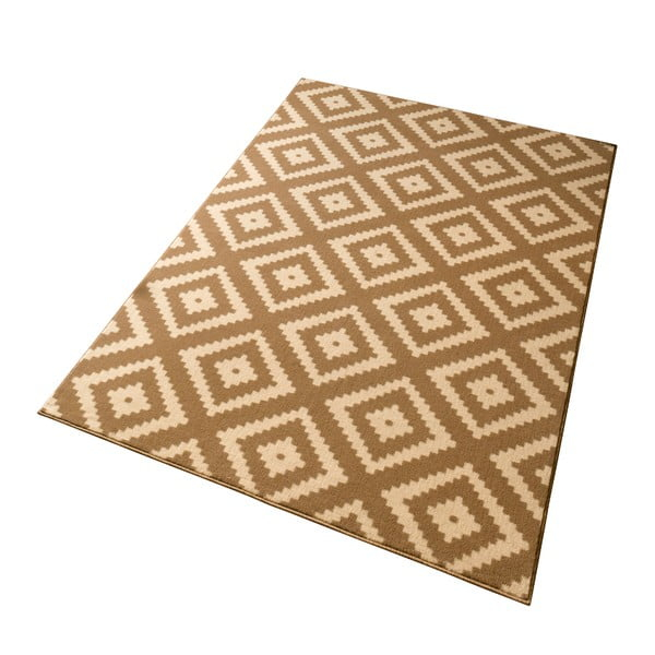 Béžový koberec Hanse Home Hamla Diamond Beige, 200 x 290cm