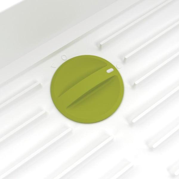 Zeleno-bílý rozšiřovatelný odkapávač Joseph Joseph Extend