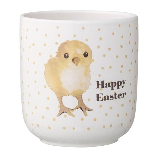 Happy Easter kerámia virágtartó - Bloomingville