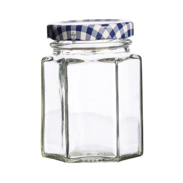 Hexagonal 12 darabos befőttes üveg szett, térfogat 110 ml - Kilner