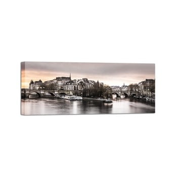 Tablou Styler Canvas Paris City, 150 x 60 cm de la Styler
