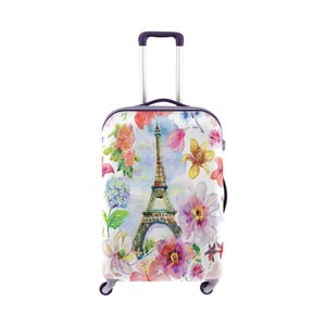 Obal na kufr s motivem Paříže Oyo Concept, 76 x 49 cm