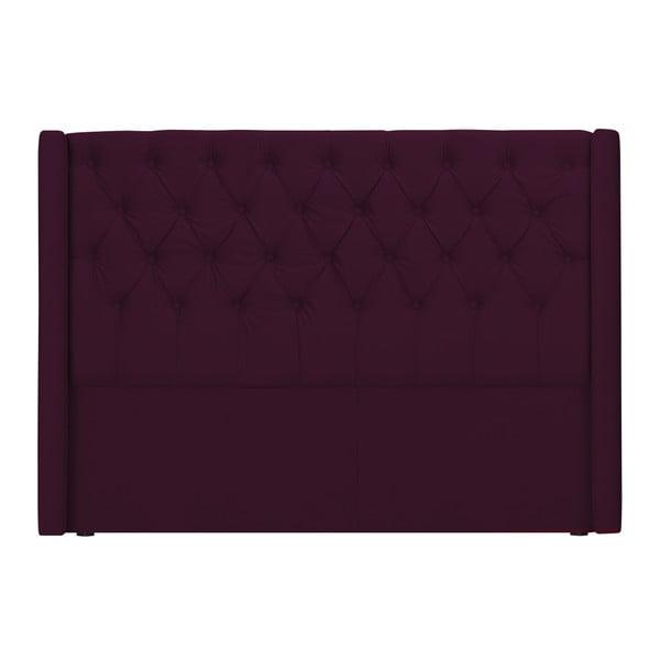 Červené čelo postele Windsor & Co Sofas Queen, 176 x 120 cm