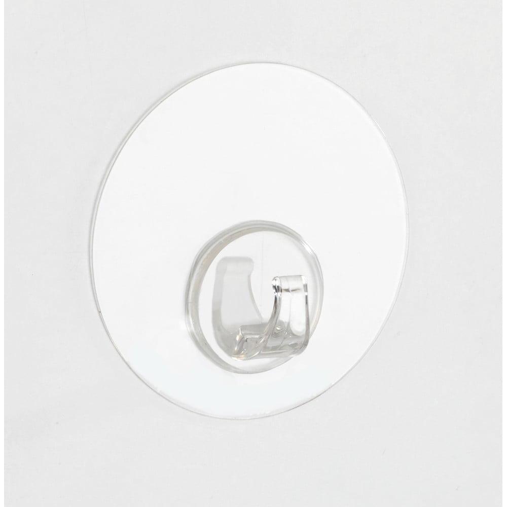 Produktové foto Transparentní nástěnný háček Wenko Static-Loc® Uno