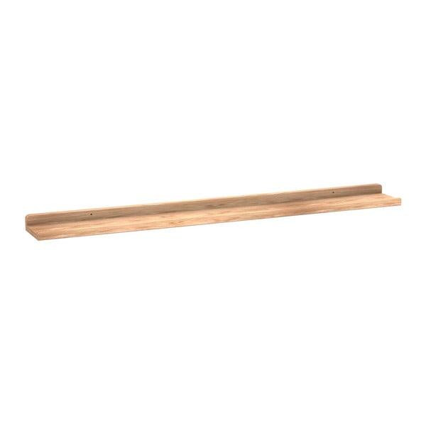 Raft din lemn de stejar, Rowico Gorgona, lungime 100 cm, culoare naturală