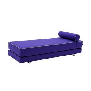 Fialová rozkládací sedačka Softline Lubi