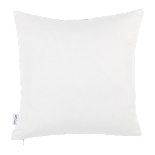 Povlak na polštář s příměsí bavlny Apolena Merino, 35 x 35 cm